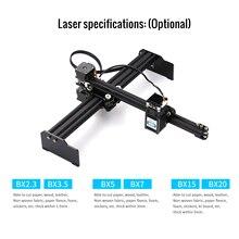 20W Desktop Laser Gravur Maschine Drucker Kunst Handwerk DIY Laser Gravur Cutter für Holz Kunststoff Bambus Gummi Leder UNS stecker