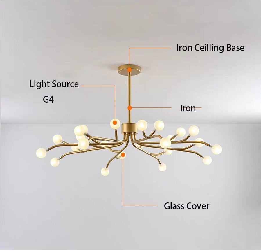 Купить с кэшбэком Chandeliers LED light for living room Remote control Modern Chandeliers for Home New led lighting Lamp LED Iron  lights fixture