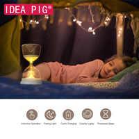 Sanduhr Schlaf Licht Hause Dekoration Moderne Zubehör Decor Kreative Sand Clock Timer für Home DIY Spielzeug für Kind Mädchen Geschenk