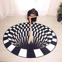 3d стерео видение вихревой Иллюзия ковер вихревые круглые ковры