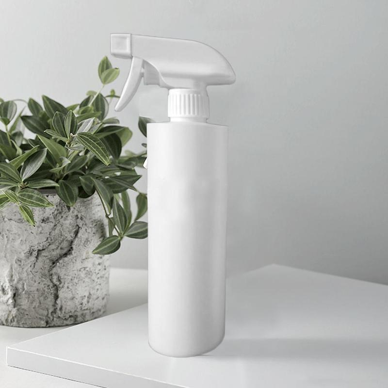 500ml White Plastic Alcohol Disinfectant Bottle Hairdressing Spray Bottle Salon Hair Styling Tools Garden Water Sprayer Bottle