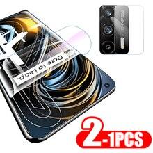 For Oppo Realme GT Neo film 1 2PCS Hydrogel Film Screen Protector Camera Protective Film For realme 8 pro phone screen film