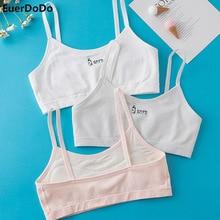 Underwear Bra Casual Outfits Undies Teenage-Girls Soft Cotton Student