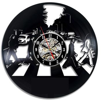 Płyta winylowa zegar ścienny Vintage LED zegar winylowy Kitten Art cichy kreatywny prosty nowoczesny Design zegar dekoracyjny 3D Watche zegar ścienny tanie i dobre opinie Timelike Nowa klasyczna po nowoczesne Vinyl Record Wall Clock GEOMETRIC Akrylowe 30cm Pojedyncze twarzy 300mm 500g QUARTZ
