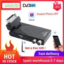 2020 DVB T2 TV Empfänger Digitalen Terrestrischen TV Tuner H.265/HEVC Video TV Decoder Unterstützung Europa Spanien, italien, Frankreich Heißer Verkauf