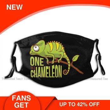 Chameleon Mouth Face Mask One In A Facial for Adult Fashion Cool with 2 Filters