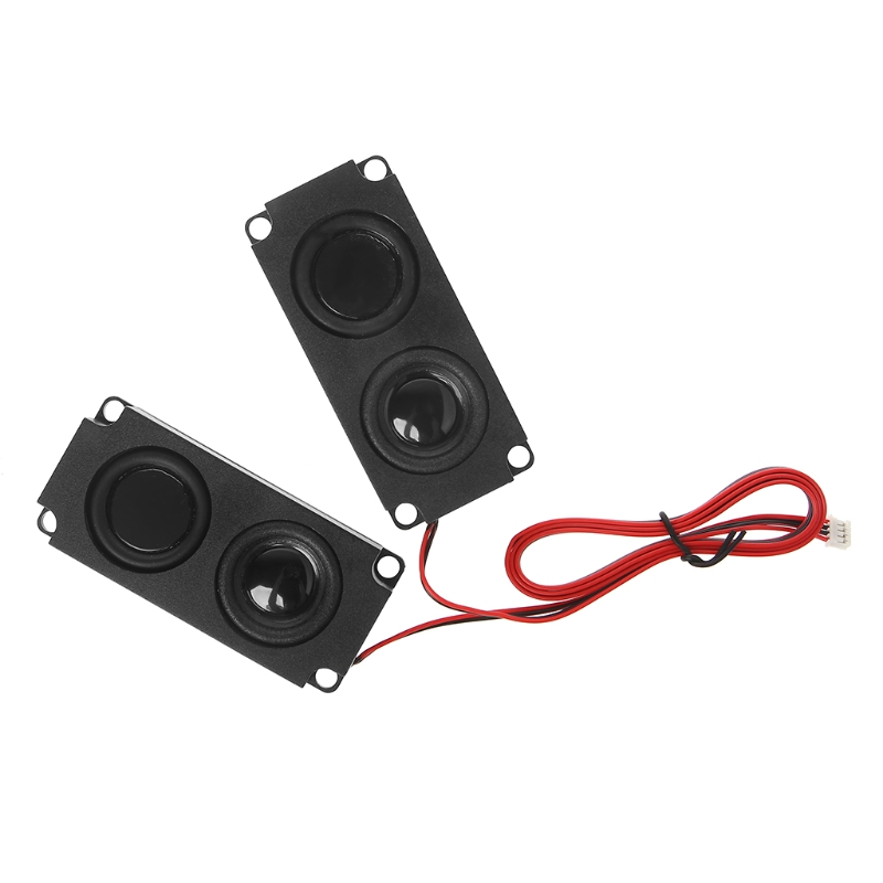 1 Pair New Audio <font><b>Speakers</b></font> 1045 Sound <font><b>Speaker</b></font> LCD TV Loudspeakers <font><b>8</b></font> <font><b>Ohm</b></font> <font><b>5W</b></font> Portable image