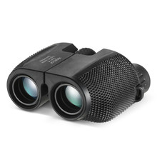 Prismáticos con Zoom de alta potencia prisma BAK4, prismáticos profesionales, telescopio de caza portátil, alcance de bolsillo para Deportes de sala de estar, 10x25