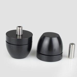 Image 2 - Altavoces de Audio HIFI para amplificador de chasis de acero inoxidable/aleación de aluminio, amortiguadores, almohadilla de pie, Base de pies, clavos, soportes G1023