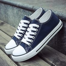 Women sneakers 2020 new spring summer white shoes woman lace up canvas