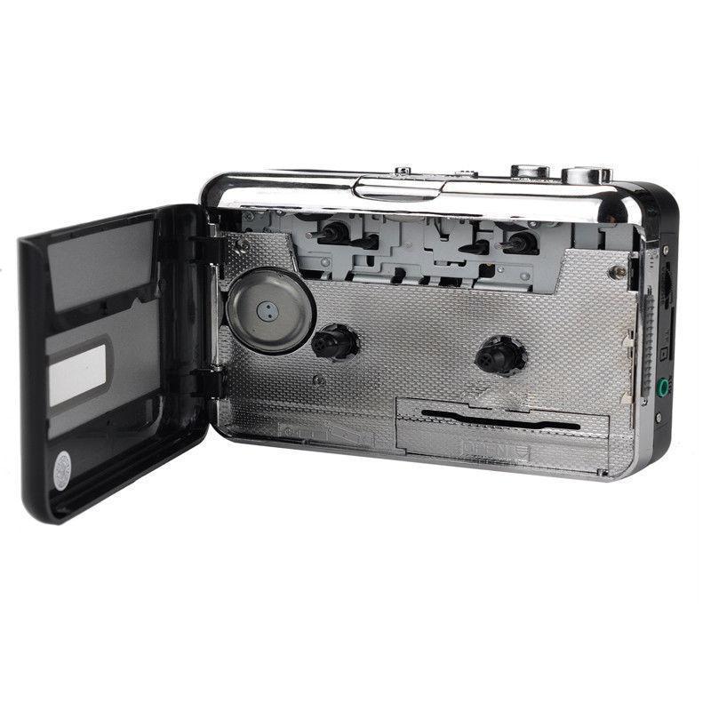 Cassette Player USB Walkman Cassette Tape Music Audio Recorder MP3 Converter Player Save MP3 File to USB Flash/USB Drive 3
