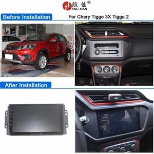 Image 5 - HACTIVOL 2G+32G Android 9.1 4G Car Radio for Chery Tiggo 3 3X 2 2016 car dvd player gps navigation car accessory multimedia