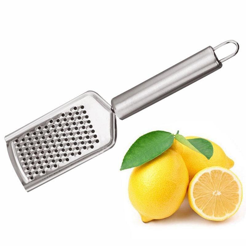 Многофункциональный измельчитель из нержавеющей стали для сыра, лимонов, фруктов, мини-терка для специй, инструмент для фруктов и овощей