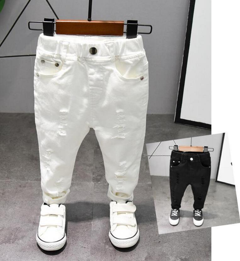 Children's pants Chorus Clothing Pure White/Black Students Contest Straight Pants Baby Boys Comfortable Latin Dance Trousers 1