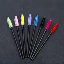 Mascara Wands Eyelash-Extension-Tool Makeup-Brush Crystal Good-Quality Disposable New