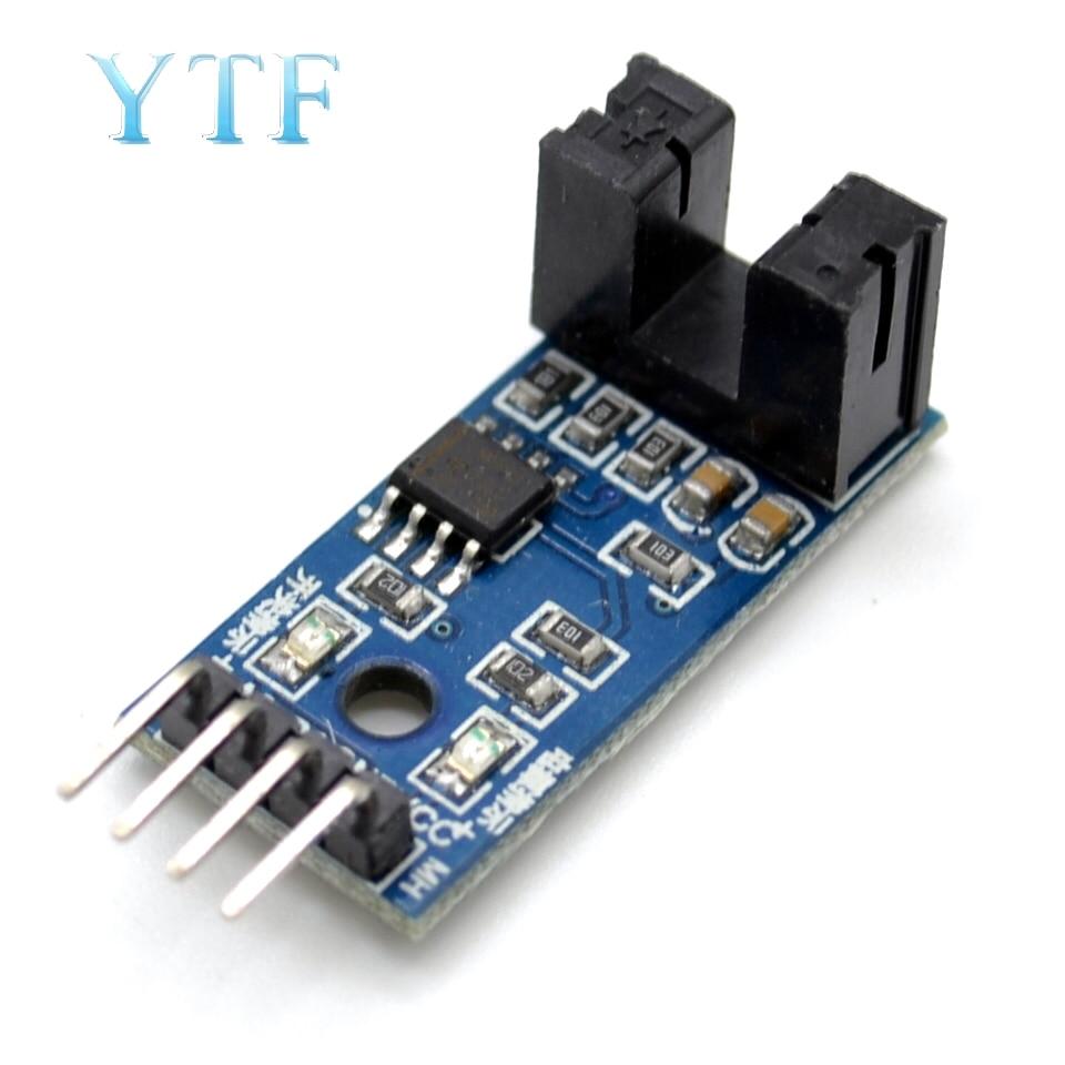 Speed Measuring Sensor Counter Motor test module slot type optical coupling for arduino