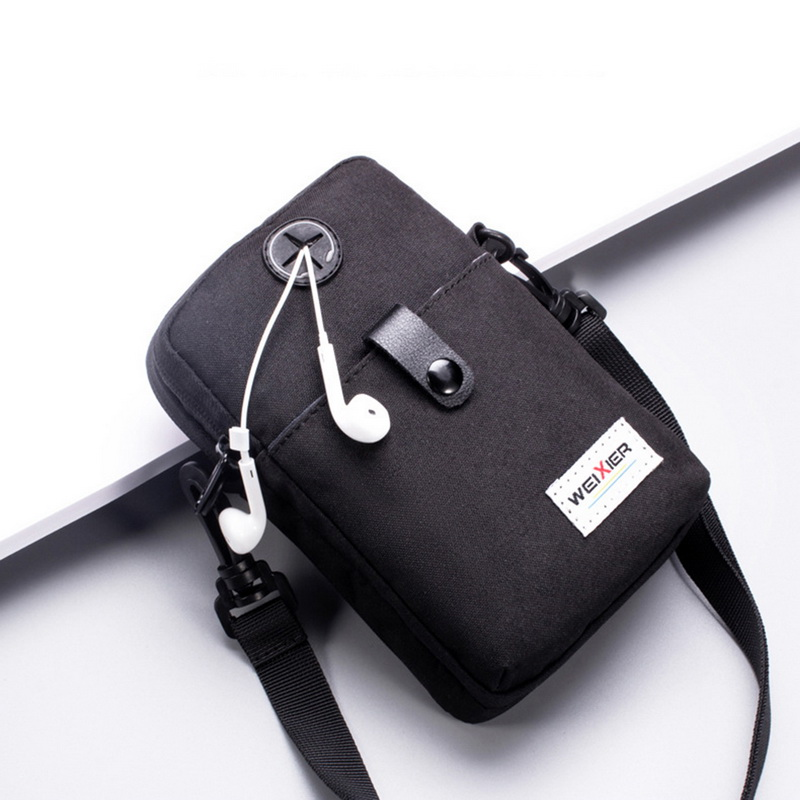 Men Messenger Bag Waterproof Small USB Charging Man Bag Shoulder Bag Male Handbag Mini Crossbody Bag Travel Small Man Bag