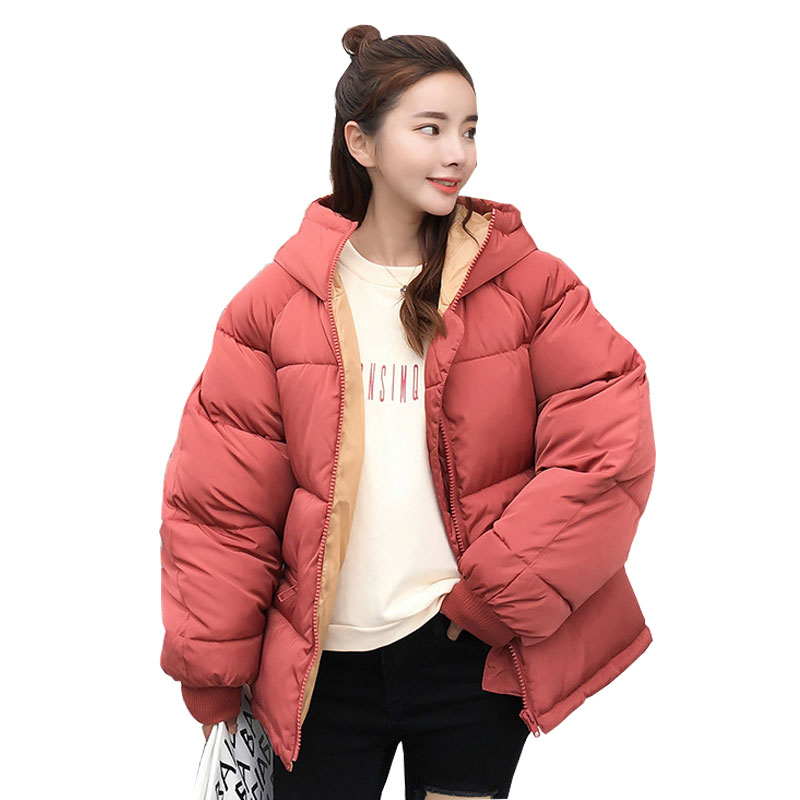Short Hooded Student Winter   Down     Coat   Jacket Warm Women Casaco Feminino Abrigos Mujer Invierno 2018 Wadded Parkas Outwear 17