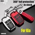 ZOBIG чехол для ключей автомобиля из ТПУ для Kia Rio 3 K2 Ceed Cerato K3 Sportage 4 Picanto K5 Optima Sorento Forte Stinger