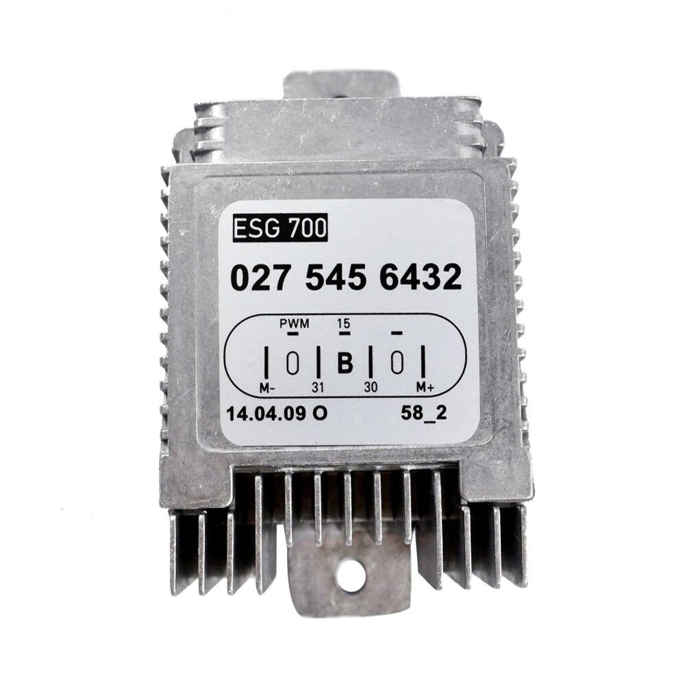 Unité de commande de ventilateur de refroidissement de radiateur pour 00-06 mercedes-benz W215 W220 USA