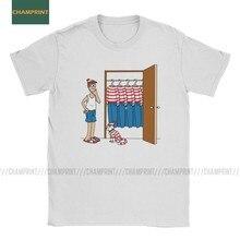 Roupeiro do Wally Uo Est 90 Paródia T-Shirt Dos Homens Wheres Waldo s Comic Charlie Queria Camiseta De Algodão Camisa de Manga Curta T Camisas 6XL