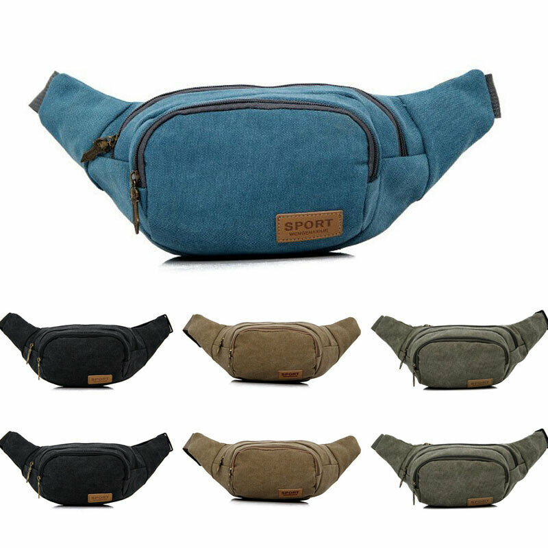 Sports Fanny Belly Waist Bum Bag Outdoor Waterproof Tactical Fitness Running Jogging Cycling Adjustable Belt Phone Pouch Pack