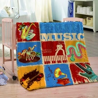 Assorted Print Flannel Blankets For Adults And Children All Season Blanket Lightweight Cozy Plush Throws Couch Sofa Bedding