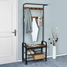 Floor Standing Iron Clothes Hanging Storage Coat Rack Hangers Clothes Hanger Racks Wardrobe Bedroom Furniture