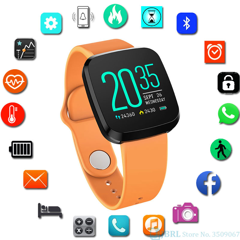 NEW Color LED Wrist Watches Kid Watches Boys Watch Children LED WristWatch Child Sports Pedometer Digital Watch For Android IOS