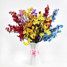 50cm Babies Breath Artificial Flowers Plastic Gypsophila DIY Floral Bouquets Arrangement for Wedding Home Decoration