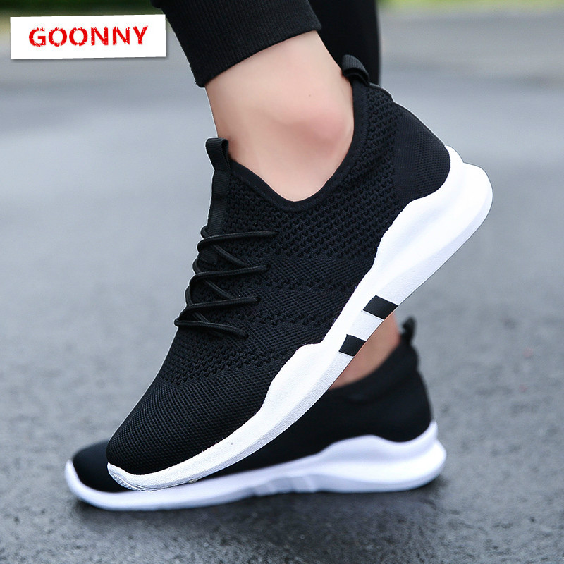 Men Running Shoes Breathable Male Outdoor Sneakers Adult Non slip Comfortable Mesh Athletic Shoes Soft Jogging Tennis Zapatos on AliExpress