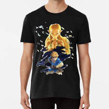 The Legend of Zelda: Breath of the Wild T shirt breath of the wild zelda link hyrule video game game sword legend(China)