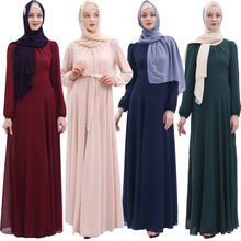 Abaya Дубай Турция мусульманское платье кафтан Саудовская Аравия