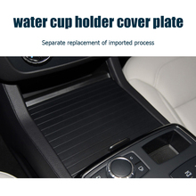 Center Console Cup Holder Easily Installation Roller Cover Personal Car Elements for Mercedes Benz ML GL GLE Class W166