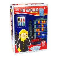 Fire police toy 3D stereo logic game educational toy intelligence maze Family Party Game