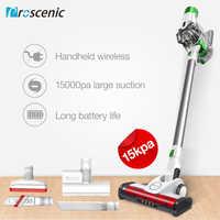 Proscénic P9 aspirateur sans fil 15000pa puissant aspiration bâton lumineux LED aspirateur portatif 2 en 1