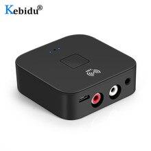 Bluetooth 5.0 RCA Audio récepteur 3.5mm 3.5 AUX Jack musique sans fil Bluetooth adaptateur avec NFC pour voiture TV haut parleurs Auto marche/arrêt