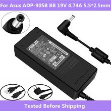 Adapter Power-Charger Adp-90cd db 19v 4.74a Asus PA-1900-36 Original for AC/DC Eu/uk-Version