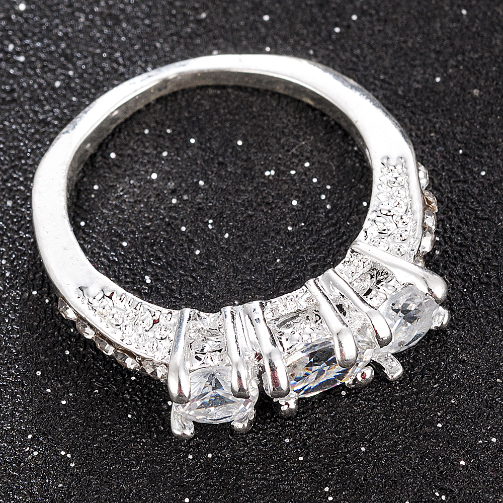 2020 NEW Crystal Ring Female Anelli Bijoux Anillos Wedding Engagement Rings For Women Anel Jewelry 2