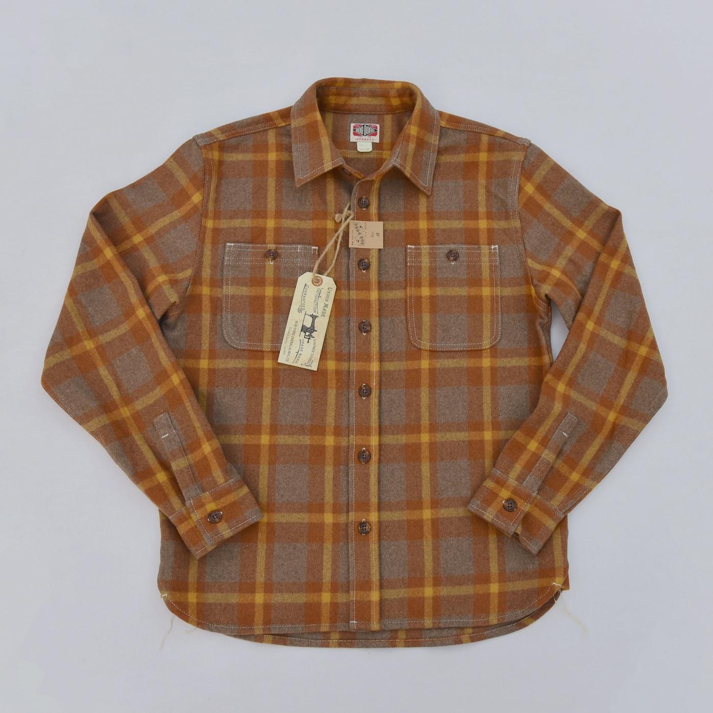 BOB DONG, шерстяные клетчатые рубашки, Зимние Повседневные теплые рубашки с длинным рукавом и пуговицами спереди