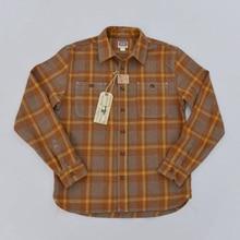 BOB DONG Wool Plaid Shirts Winter Casual Warm Button Front Long Sleeve Shirts