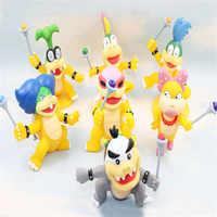 Rare Collection 10cm jeux Mario Bros Koopaling enfants Iggy Ludwig Roy Wendy Lemmy Larry figurine jouet