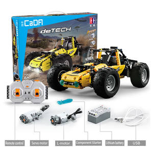 Toys Building-Blocks Buggy Off-Road-Vehicle MOC Cada with Model And Pf-Sets as for Kids