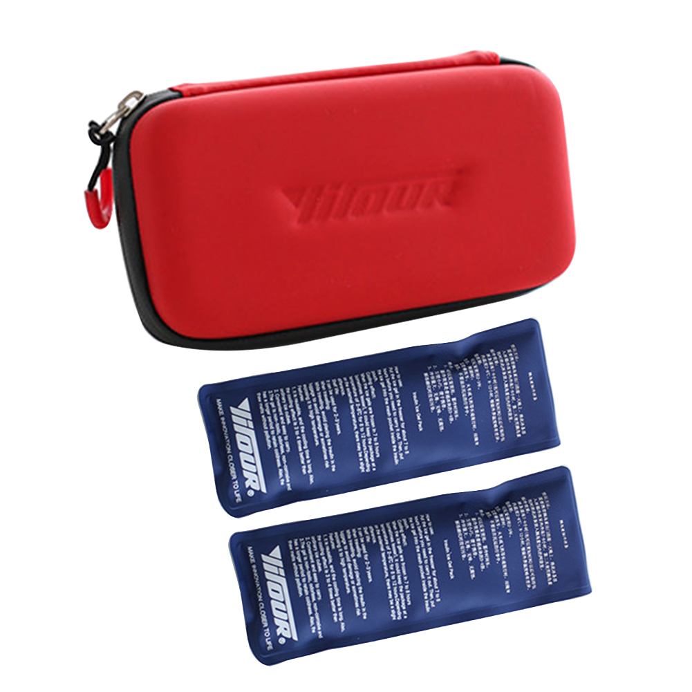 Tasteless Travel EVA Reusable Ice Box Efficient Fashion Drug Refrigerate Case Portable Isolated Non-toxic Insulin Cooler Bag