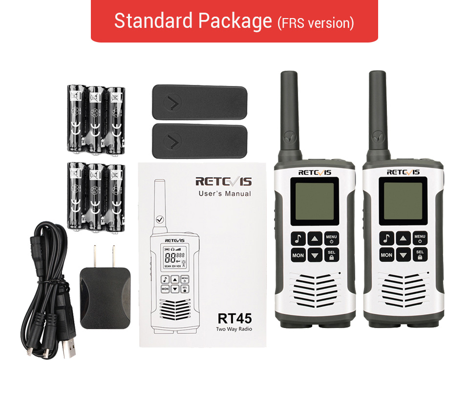 Walkie-Talkie USD RETEVIS States 23