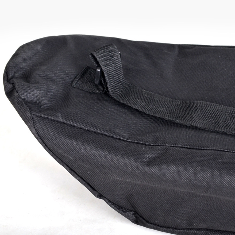Accessories Black Oxford Cloth Adjustable Travel Solid Backpack Waterproof Cover Skateboard Bag Longboard Unisex Shoulder