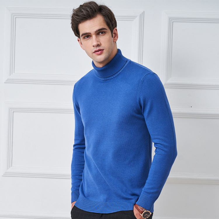 mens Sweaters 2019 Winter Tops Turtleneck Sweater men Thin Pullover Jumper Knitted Sweater Pull Femme Hiver Truien Dames New