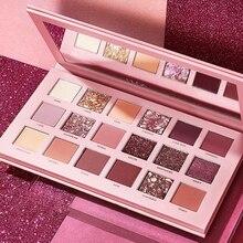 Cosmetic-Kit Eyeshadow Shimmer-Palette Makeup Glitter Nude Mineral-Powder Matte Waterproof