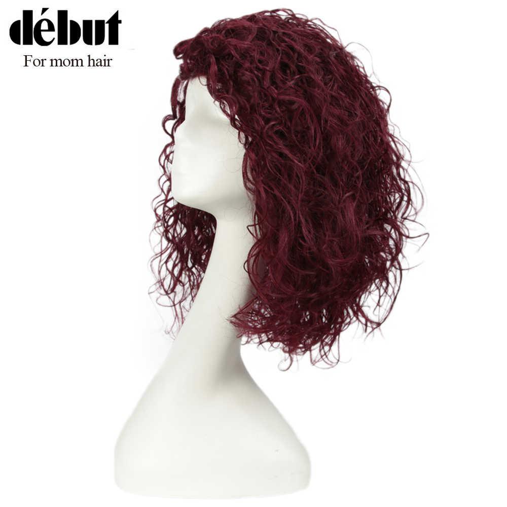 Pelucas de pelo humano rizadas Peluca de pelo humano 100% Remy pelucas de pelo indio para mujeres negras U parte de encaje pelucas baratas pelucas rizadas
