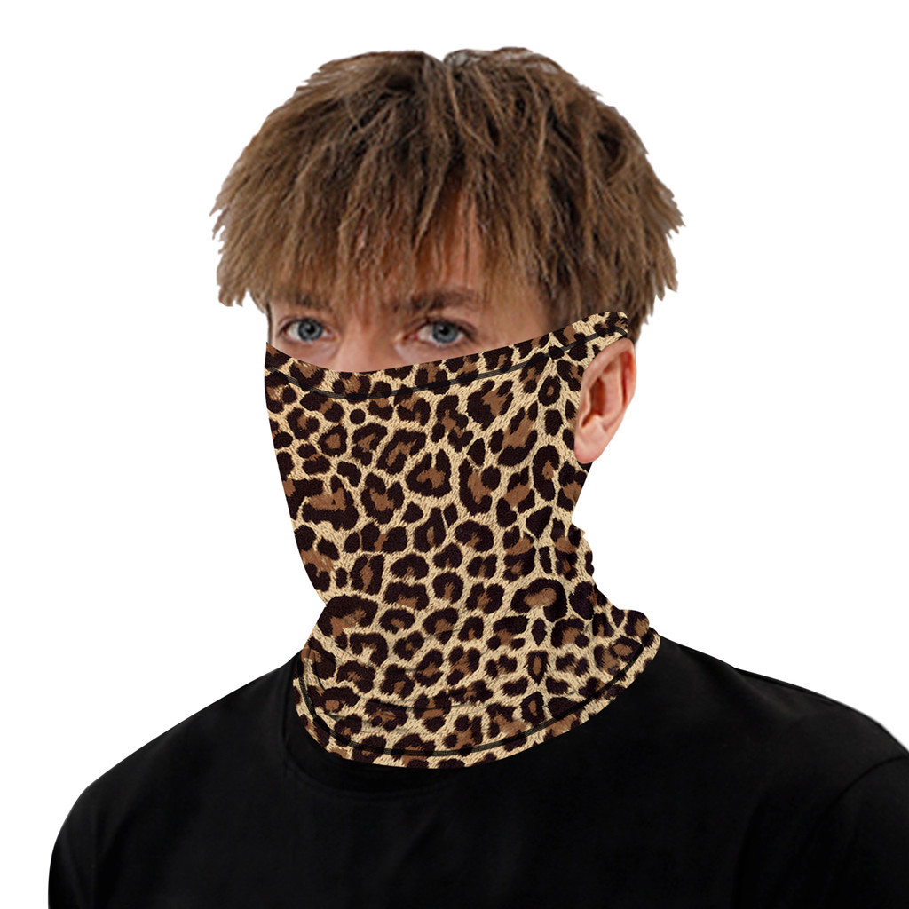 Stylish Printed Dustproof Scarf Mask 22